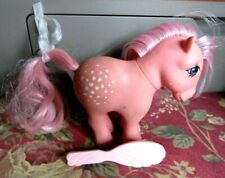 Hasbro My Little Pony Cotton Candy with Brush 1982