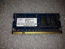 Memoria SoDimm DDR2 Nanya NT256T64UH4A0FN-37B 256MB PC2-4200 533MHz 200 Pin