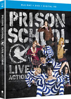 Prison School TV Series Blu-ray/DVD