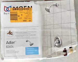 NEW MOEN Adler Single-Handle 4-Spray Shower Faucet with Valve in Chrome 82604