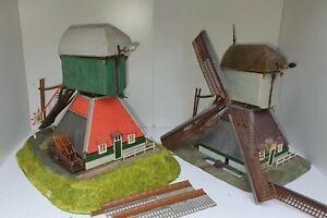 Faller 131312 und 131388 2 Windmühle mit Synchronmotor für Bastler