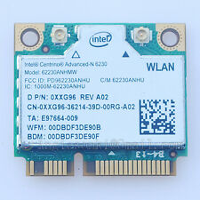intel centrino advanced-n 62230ANHMW 6230 Wireless+ BLUETOOTH 3.0 WiFi WLAN CARD