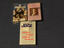 "Nat King Cole + 16 Shirelles + Classics of Jazz (Cassettes) ""Soldier Boy"" +) LOT"
