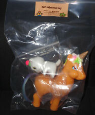 Refreshment Toy Unicone with Sitting Cat Sofubi Japanese Vinyl Figure Unicorn