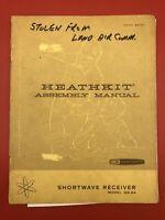 Original HEATHKIT GR-64 AMATEUR SHORTWAVE RECEIVER Assembly Manual