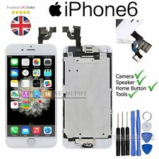 "iPhone 6 4.7"" Replacement Screen Digitizer LCD Touch white & Home Button Camera"