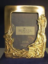 Seagull Pewter Picture Frame 3.5 x 5 in., Animal Pairs NIB