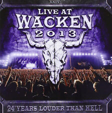 Various Artists : Live at Wacken 2013: 24 Years Louder Than Hell CD 2 discs