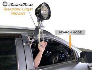 SmartRest - Shadow Mount - Light Mount for Spotlight on car door frame + Handle