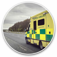 2 x Vinyl Stickers 10cm - Ambulance Emergency Services Cool Gift #15804