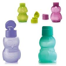 TUPPERWARE Eco Easy Kinder Flasche 350ml Dino, Eule, Hase, Wurm, Frosch, Hello K