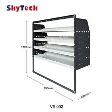 Van shelvings Guard 4 Shelf Trays Steel Racking Storage 85cm*43cm*122cm VS002