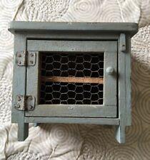 Antique AAFA Primitive Handmade Painted Chicken Coop Wooden Salesman Sample