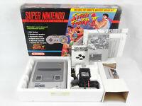 SNES Super Nintendo Street Fighter 2 Boxed Console