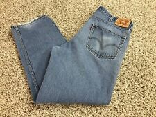 """LEVI'S  RED TAB 550 RELAXED FIT JEANS MEN SIZE 40/32 MEDIUM WASH 31"""" INSEAM"""