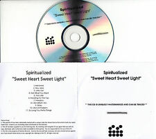SPIRITUALIZED Sweet Heart Sweet Light UK 11-trk watermarked promo test CD