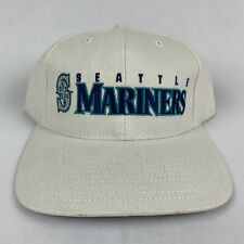 VTG 90s Seattle Mariners Strapback Hat Cap MLB Baseball Twins Enterprise