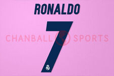 C.Ronaldo #7 2016-2017 Real Madrid Homekit Nameset Printing