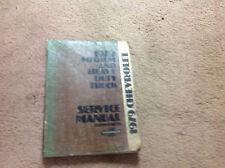 1979 Chevy Medium & Heavy Duty Truck Shop Repair Service Manual SUPPLEMENT OEM x