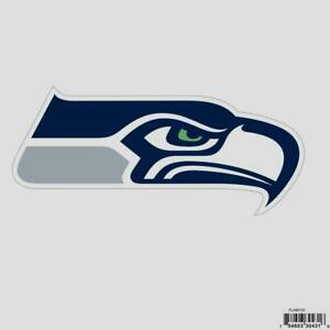Seattle Seahawks Licensed Outdoor Rated Logo Magnet (NFL Football)