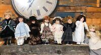 Lot of 8 Vintage Seymour Mann Porcelain Dolls The Connoisseur Collection  #7