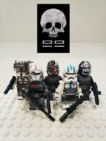 Star Wars The Bad Batch Clone Force 99 Minifigures 5 Set - USA SELLER
