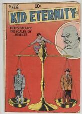 Kid Eternity #16 July 1949 VG