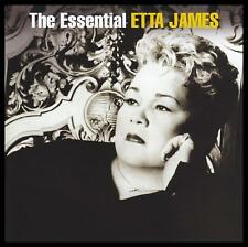 ETTA JAMES (2 CD) THE ESSENTIAL ~ BLUES~SOUL~R&B~60's / 70's GREATEST HITS *NEW*