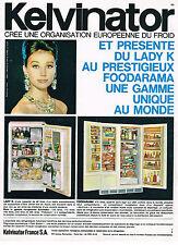 PUBLICITE ADVERTISING 014   1962   KELVINATOR       réfrigérateur