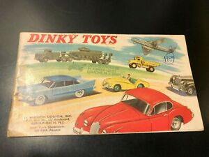 Dinky Toys 1959 Meccano Catalog England - Die Cast Models!!
