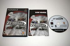 Formula One 2001 Sony Playstation 2 PS2 Video Game Complete