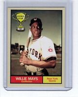 Willie Mays '51 New York Giants Rookie Stars series #8 by Monarch Corona