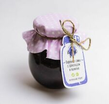 Eco-Friendly Plum Jam Chocolate & Vanilla Without Flavoring Agents Colorants