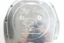 Clay Smith Cams Ball Milled Polished Aluminum Timing Chain Cover SBC 305 350 383