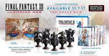 Final Fantasy XII/12-The Zodiac Age Collectors Edition para PlayStation 4 ps4