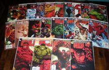 Marvel Comics HULK Lot Variants 2-24 VF/NM (2008) Featuring Red Hulk