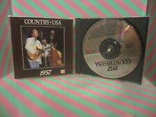 COUNTRY USA 1957 Time Life CD sonny james JERRY LEE LEWIS JIMMIE SKINNER