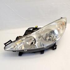 Headlight Headlamp Left Damaged 9680131780 (Ref.1184) Peugeot 207 1.4