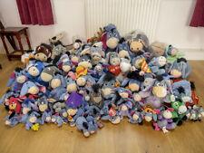 Collection of Stuffed Eeyore and other donkeys