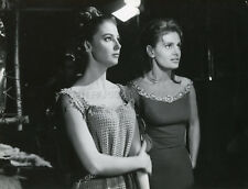 PIER ANGELI ROSSANA PODESTA SODOM AND GOMORRAH 1962 PHOTO ORIGINAL