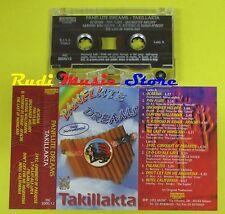 MC TAKILLAKTA Panflute dreams italy FONOTECNICA MC 2000/12 no cd lp dvd vhs