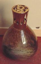 magnifique ancienne authentique lampe berger pate de verre en très bon état