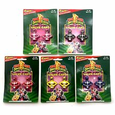 5 PK Rand Bicycle Accessories Power Rangers Mighty Morphin Valve Caps 10 pcs