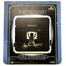 Poltergeist CED Video Disc 80s Horror Movie Steven Spielberg RCA SelectaVision