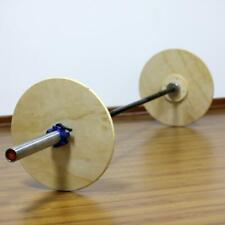 Weight Lifting Wood Plates Replacement Strength Exercise Training Equipment