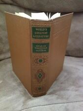 Spencer Press Book 1936 VICAR OF WAKEFIELD Goldsmith WORLD'S GREATEST LITERATURE