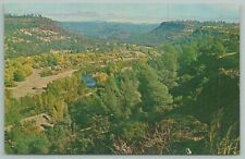 New listing Paradise California~Aerial View From Skyway~Vintage Postcard