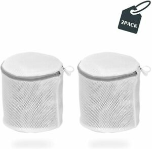 Bra Wash Bags Washing Mesh Laundry Bags Reusable Travel Storage Organizer 2 pack