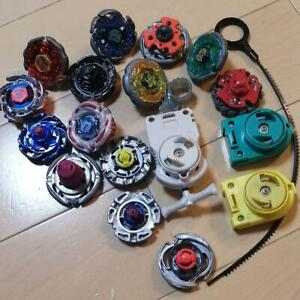 Takara Tomy Beyblade Lot with Launcher Metal Fight