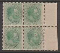 Spain Philippines Revenue fiscal stamp Cinderella 9-19 mnh gum - nice